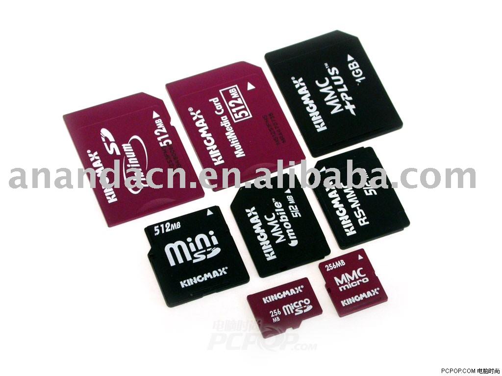 Memory Card (SD/MS/SD/Mini-SD/MMC/RS-MMC/CF/TF Card), View memory1024
