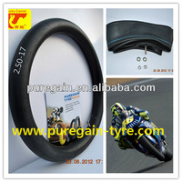 tyre tube motorcycle/tire tube motorcyle tire 250-17/inner tube for motorcycle top huality and good price manufacture
