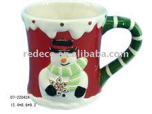 Porcelain christmas mug craft