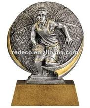 Resin basketball award
