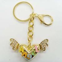 Fashion Heart Wing Keychain #105340