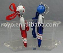 H BALL COMPASS plastic promotional pen