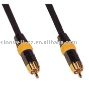 RCA Plug Coaxial Cable Video Interconnect Cable VK30296