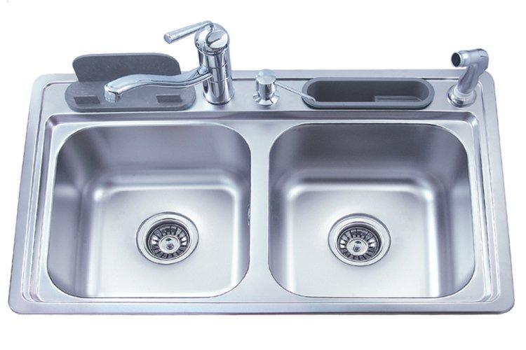 Amazon.com: Topmount Stainless Steel Kitchen Sink Single Bowl