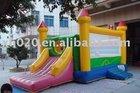 2012 Best Sale crazy fun indoor or outdoor commercial grade vinyl tarpaulin brand new inflatable castle combo C026