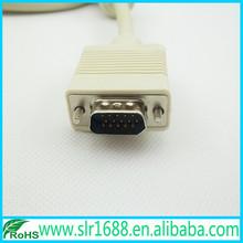 1080P Real 9 Pin VGA Cable for Computer Monitor