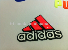 outdoor wear heat transfer silicone patch