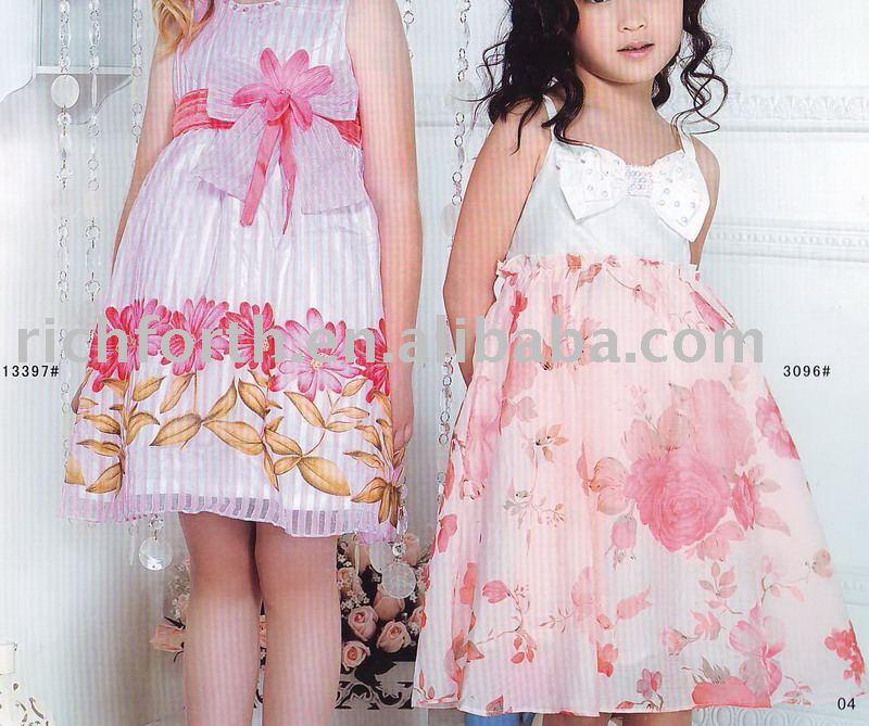 See larger image: Girl's dresses,children garment,kids wear,children dresses ...