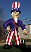 custom inflatable advertising figures, inflatable character model