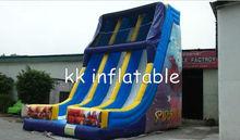 new design inflatable spiderman slide for adult