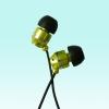 High quality metal MP3 earphone , in ear earphone
