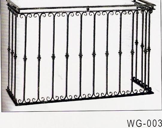 Wrought Iron Window Grille Balcony Metal Photo