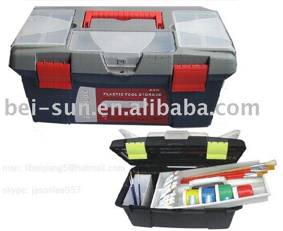Case à outils en plastique G-555 boîte à outils