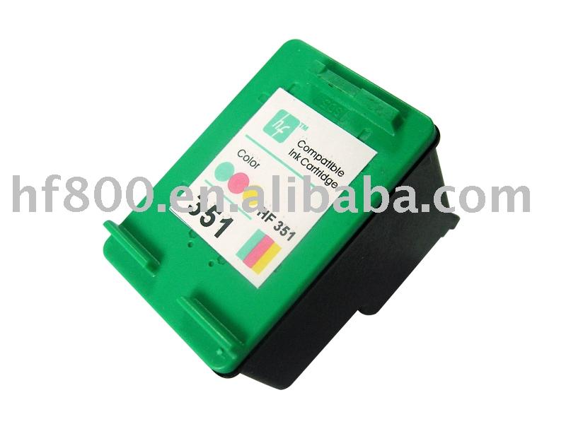 Remanufacturados y la tinta del cartucho para HP 351 / 351XL color ( usuario para HP d4260, D4360, J6480, J5780, C4280, C5280, C4480 )