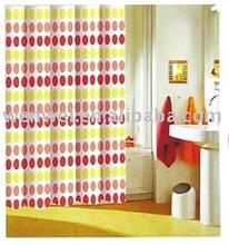 Polyester bath curtain