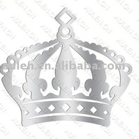 AL0278 Crown Mirror/acrylic Mirror sticker