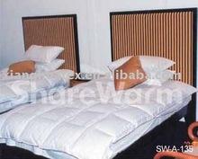 Duvet or quilt or comforter