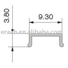 OPK-016SB-11 Aluminum Sliding Roller Track
