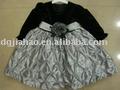2011 en şık Kadife kışın kız elbisesi