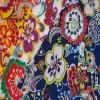 FDY knitting fabric -single span printed with metallic