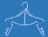 810 Uniform Hanger