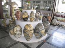 natural stone art vase