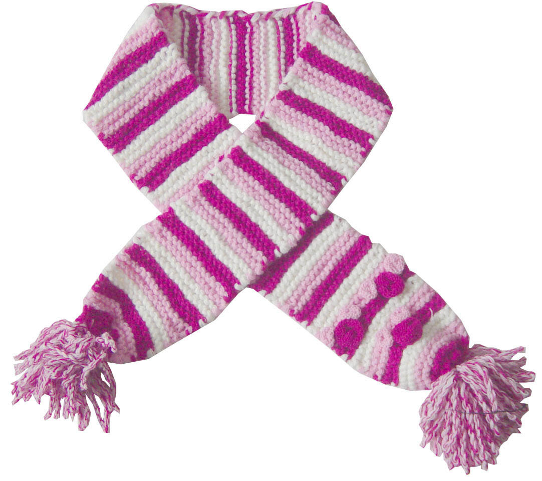 Knitting Pattern Central  Free Toddlers Clothing Knitting Knitted Scarves For Kids