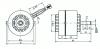 DC Brushless Fan Motor(88K2W403)