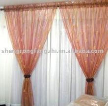 organza curtain (bronzing)