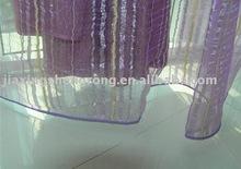 organza curtain with gold yarn