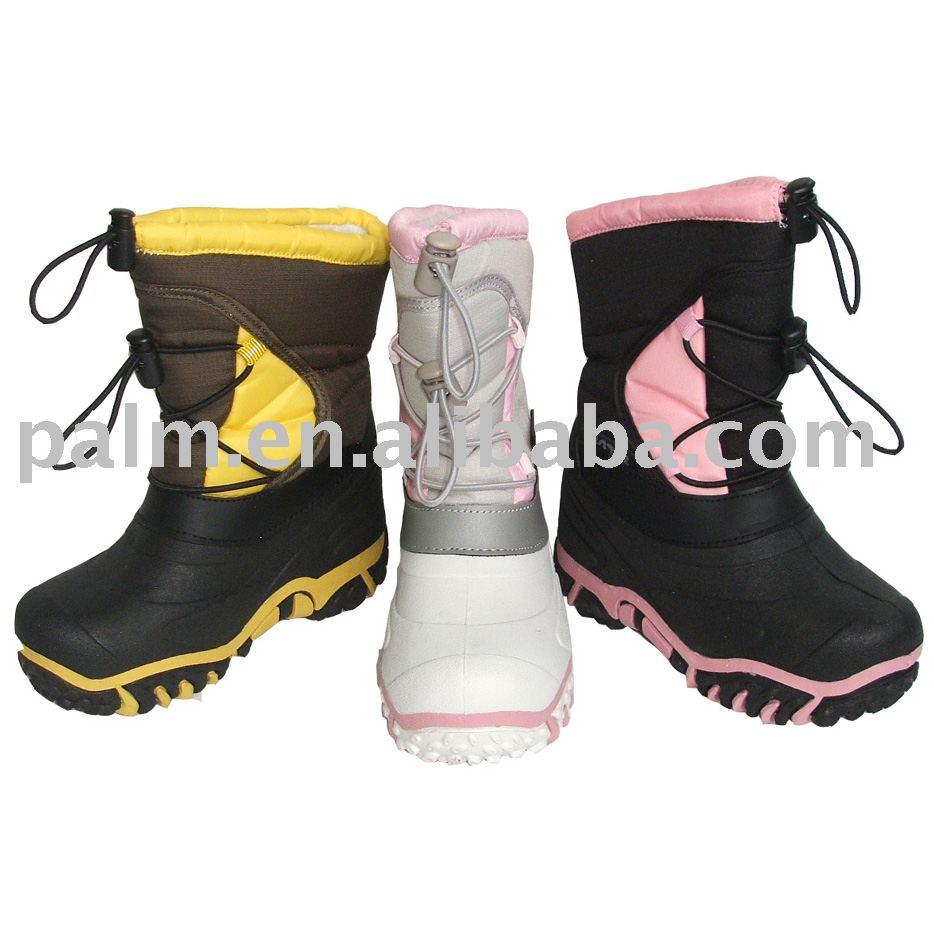 WB08-SN014,Children snow boots