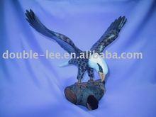 Uccello di legno _ aquila calva