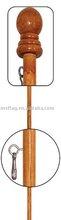 1.8m wood pole