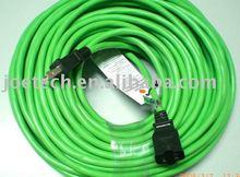 UL extension cord set American UL/CSA standard SJTW 3CX16AWG