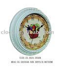 unique round wall quartz clock