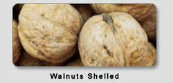 Walnuts unshelled