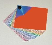 Thermo-stabilized colour plastic film