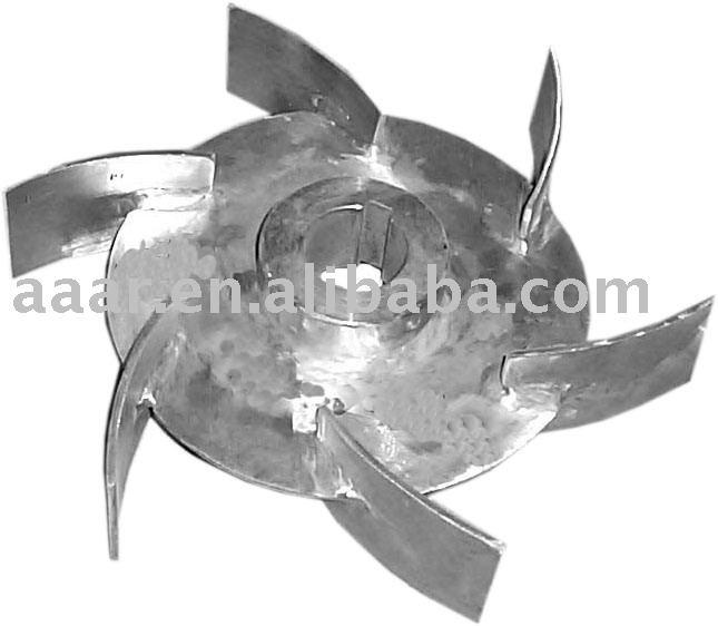 Disc turbine impeller (impeller, stirrer, rabbler, beater