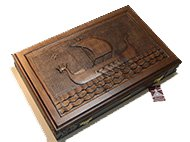 Backgammon boards with racks Carved Backgammon Ancient ship