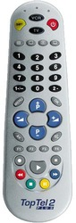 TopTel 2 Plus universal TV remote control