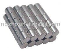 """1/8""""x1/8"""" Cylinder magnet"""
