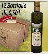 Extra Virgin Olive Oil Box of 12 0.50 cl bottles