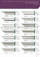 ceiling cornice/resin cornice/pu cornice