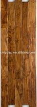 Acacia hand scraped solid wood floor