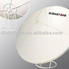 C Band 240cm,8feet Prime Focus Satellite Dish Antenna