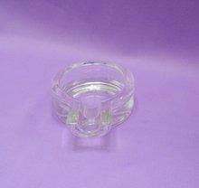 glass round ashtray/glassware
