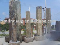 basalt column, stone pillar, stone column, garden stone, landscaping stone