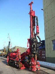 Multipurpose drilling rig EGT MD 1500.1