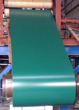 Pre-painted steel sheet piling