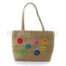 Agol Style Women's Handbags~Jute & Straw Bags